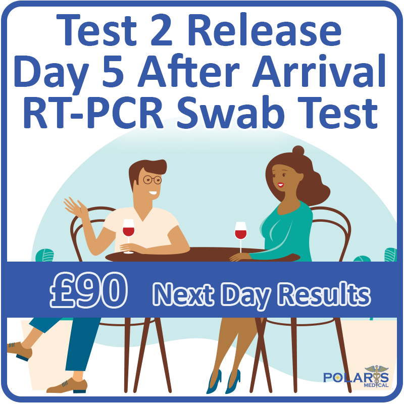 Test 5 - RT-PCR Swab Test to Release 90